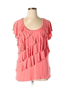 Nicole Miller New York Short Sleeve Top Size XXL