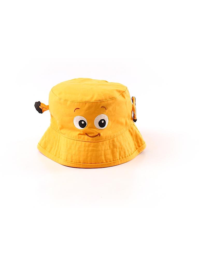 2cdb8683508 Disney Baby 100% Cotton Stripes Orange Bucket Hat Size 12-18 mo - 43 ...