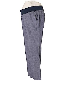 Old Navy - Maternity Linen Pants Size L (Maternity)
