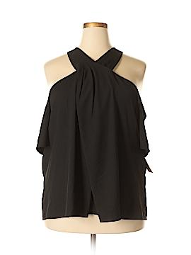 RACHEL Rachel Roy 3/4 Sleeve Blouse Size 22 (Plus)