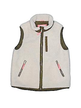 Crewcuts Faux Fur Vest Size 10