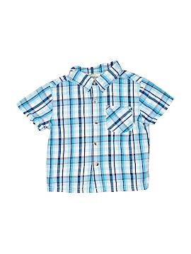 Kidgets Short Sleeve Button-Down Shirt Size 18 mo