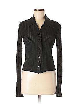 Andrea Behar Long Sleeve Button-Down Shirt Size 6