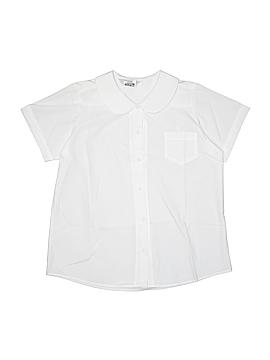 Dennis Short Sleeve Button-Down Shirt Size 16