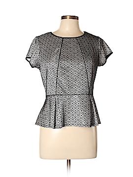Worthington Short Sleeve Blouse Size L (Petite)