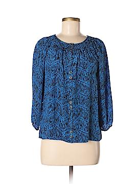Yumi Kim 3/4 Sleeve Silk Top Size XS