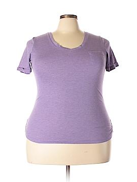 Derek Heart Short Sleeve T-Shirt Size 1X (Plus)
