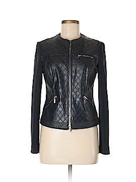 Joseph Ribkoff Faux Leather Jacket Size 8