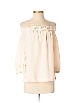 Babaton Long Sleeve Silk Top Size XXS