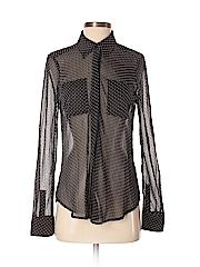 Pim + Larkin Women Long Sleeve Blouse Size S