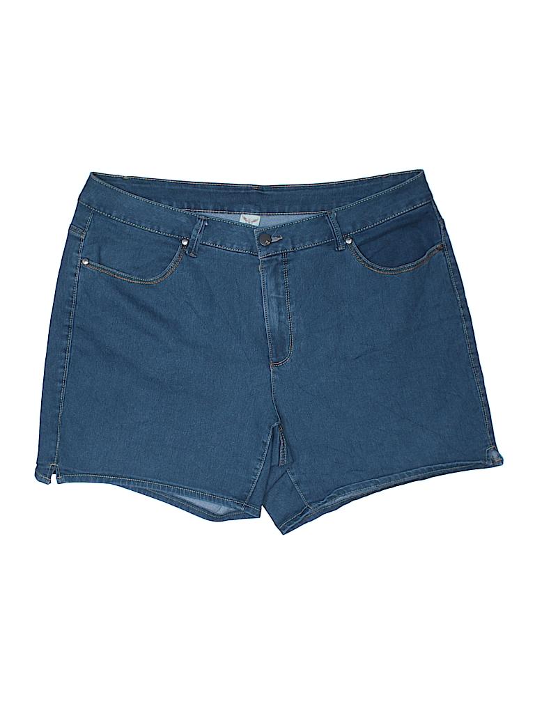 Faded Glory Women Denim Shorts Size 22 (Plus)
