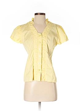Allison Morgan Short Sleeve Button-Down Shirt Size S
