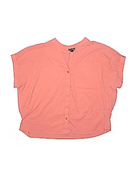 Fashion Web Short Sleeve Blouse Size 2X (Plus)