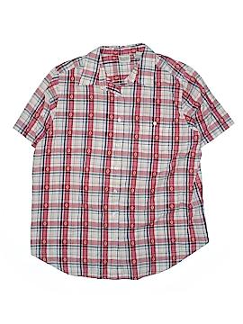 Classic Elements Short Sleeve Button-Down Shirt Size 20w (Plus)