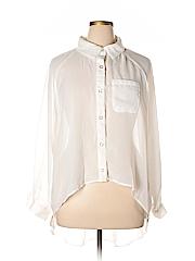 Last Kiss Women Long Sleeve Blouse Size 2X (Plus)