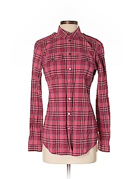 Burberry Brit Long Sleeve Button-Down Shirt Size S