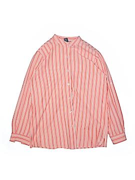 Denim Co Long Sleeve Button-Down Shirt Size S
