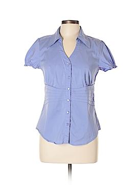 Alfani Short Sleeve Button-Down Shirt Size 10