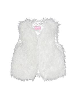 TOBY Faux Fur Vest Size 4 - 6X