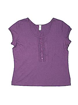 Merona Short Sleeve Henley Size XL