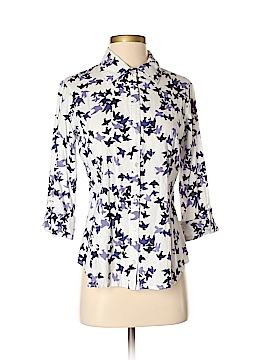 Weston Wear 3/4 Sleeve Button-Down Shirt Size S