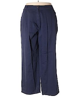 Woman Within Khakis Size 32 W (Plus)