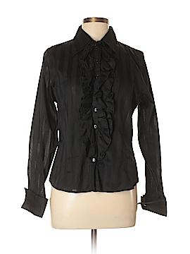 Anne Fontaine Long Sleeve Button-Down Shirt Size 44 (EU)
