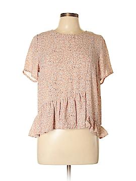 Copper Key Short Sleeve Blouse Size L