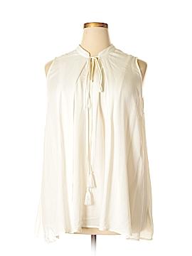 Melissa McCarthy Seven7 Sleeveless Blouse Size 2X (Plus)