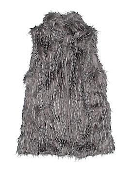 Me Jane Faux Fur Vest Size L