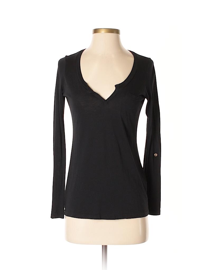 Splendid Women Long Sleeve T-Shirt Size XS