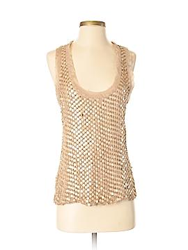 Ya-Da Sleeveless Silk Top Size S
