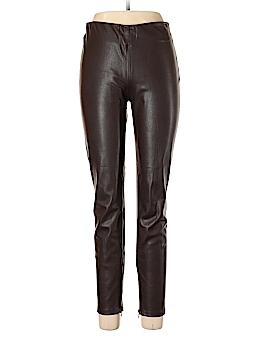 Zara Basic Faux Leather Pants Size XL