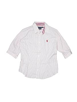Ralph by Ralph Lauren Short Sleeve Button-Down Shirt Size 10