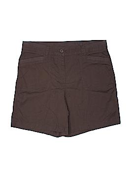 Kim Rogers Khaki Shorts Size 16