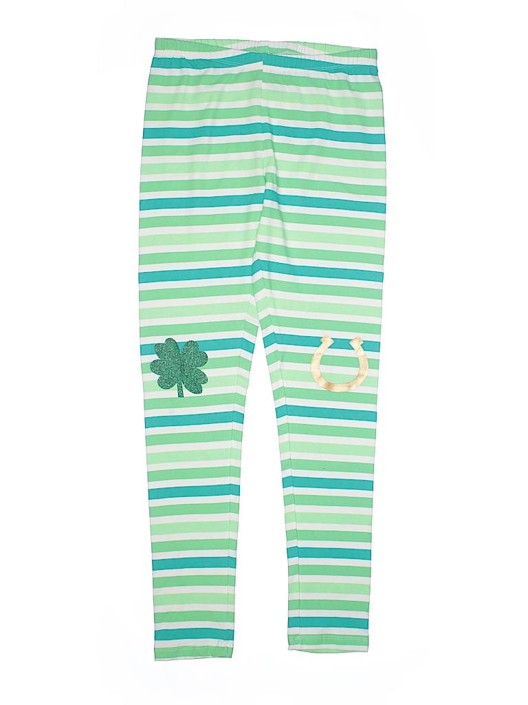 04de128a8fe7e Target Metallic Stripes Graphic Green Leggings Size X-Large (Youth ...