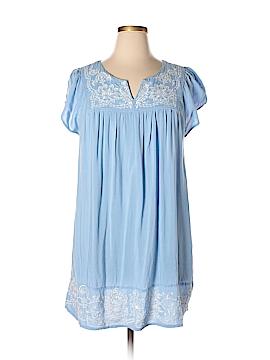 One Clothing Short Sleeve Blouse Size 1X (Plus)