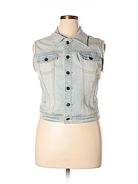 American Rag Cie Denim Vest Size XL