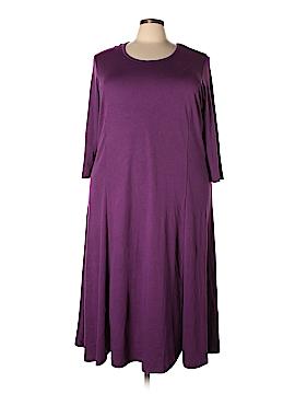 JG HOOK Casual Dress Size 3X (Plus)