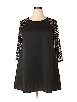 Club L 3/4 Sleeve Blouse Size 20 (Plus)