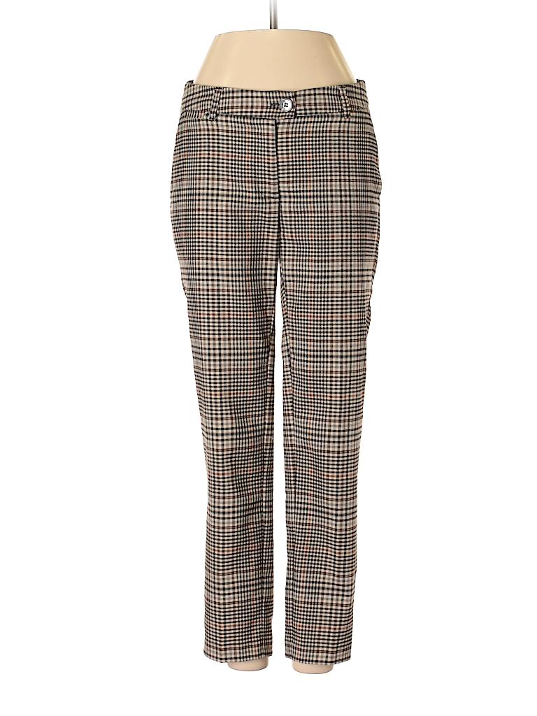 8ec8d2d9b2 H M Plaid Tan Dress Pants Size 2 - 70% off