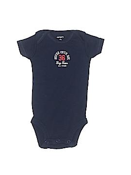 Carter's Watch the Wear Short Sleeve Onesie Newborn