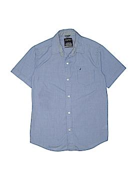 Nautica Short Sleeve Button-Down Shirt Size 14 - 16