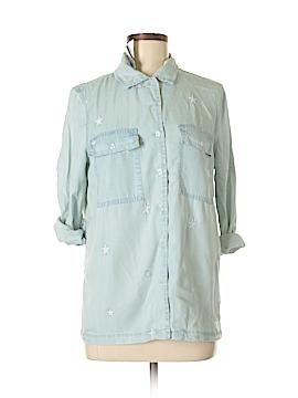Velvet Heart 3/4 Sleeve Button-Down Shirt Size XS