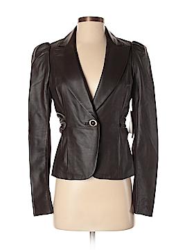 Leifsdottir Leather Jacket Size 4