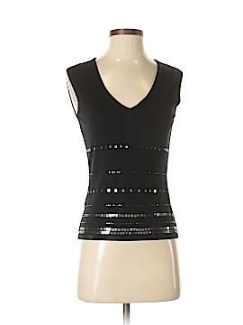 INC International Concepts Sleeveless Silk Top Size S