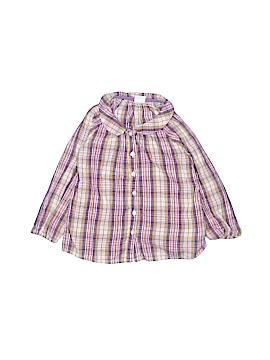 H&M Long Sleeve Button-Down Shirt Size 12-18 mo