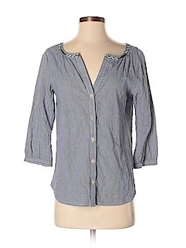 Maison Scotch 3/4 Sleeve Button-Down Shirt Size Sm (1)