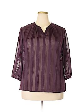 I Heart Ronson 3/4 Sleeve Blouse Size XL
