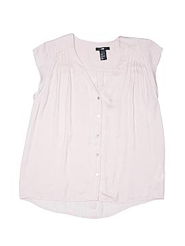 H&M Short Sleeve Blouse Size 2